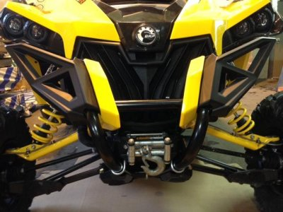 Can-Am Maverick Winch Mount