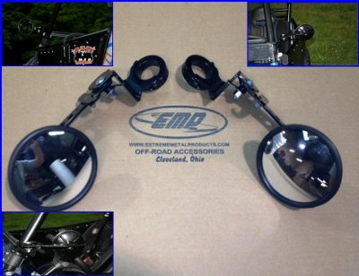 "RZR and Ranger Heavy Duty ""Smack Back Buggy Mirrors"""
