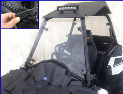 Polaris Sportsman Ace Full Windshield