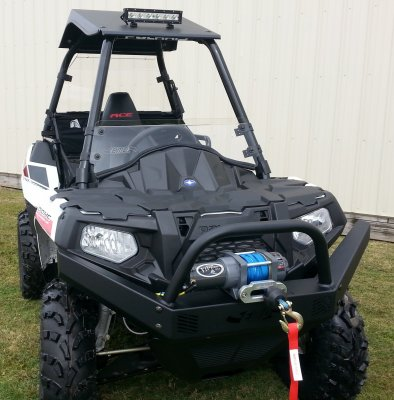 Polaris Sportsman ACE Front Bumper with Winch Mount