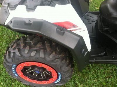 Polaris ACE Fender Extensions/Fender Flares