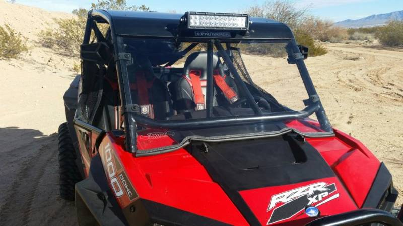 Polaris RZR XP 1000 Windshield for PRO-ARMOR After Market Cages