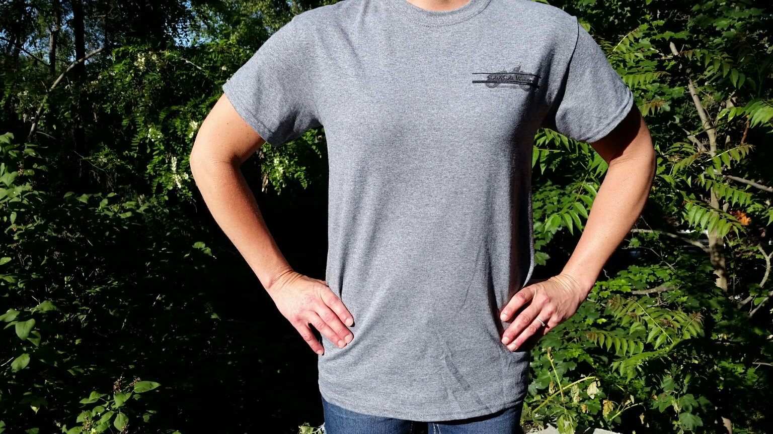 Small Grey SideXSide Visions T-Shirt