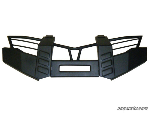 Yamaha atv bumpers side x side visions we put the fun in your ride yamaha grizzly 550700 front brush guard sciox Image collections