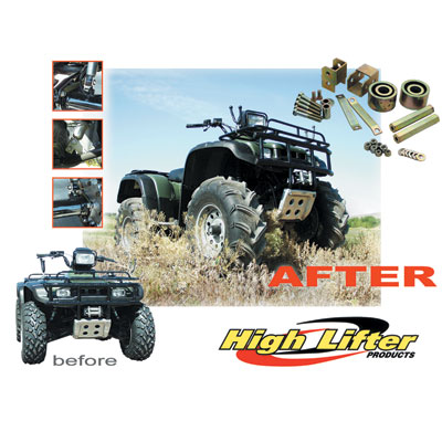 "2009-2010 Ranger 500 2"" Lift Kit"