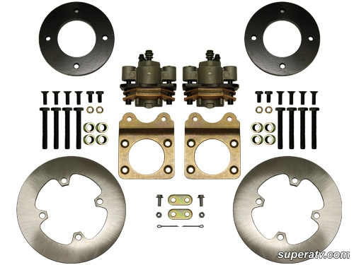 Honda ATV Front Disc Brake Kit