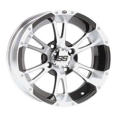 ITP SS112 Alloy Series Wheel 14x6 4/156 4.0 + 2.0 Black