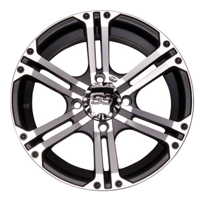 ITP SS212 Alloy Series Wheel 12x7 4/156 4.0 + 3.0 Machined