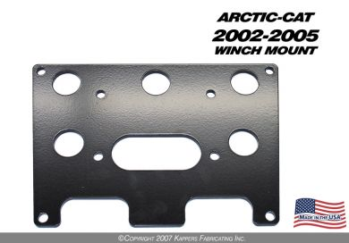 2002-2005 Arctic-Cat Winch Mount