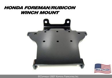 2005-2006 Honda Foreman/Rubicon Winch Mount