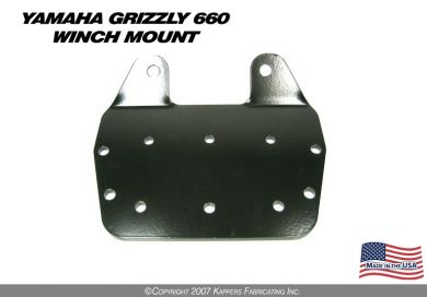 2002-2008 Yamaha Grizzly 660 Winch Mount
