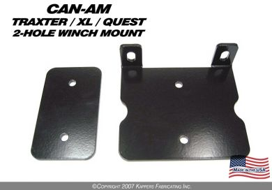 1999-2005 Bombardier Traxter/Quest Winch Mount Converter