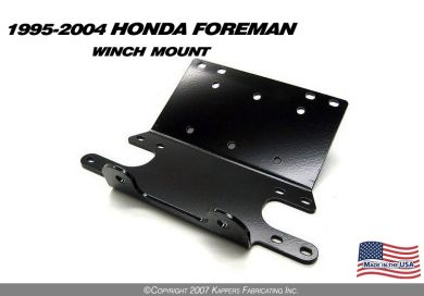 1995-2004 Honda Foreman 400/450 Winch Mount