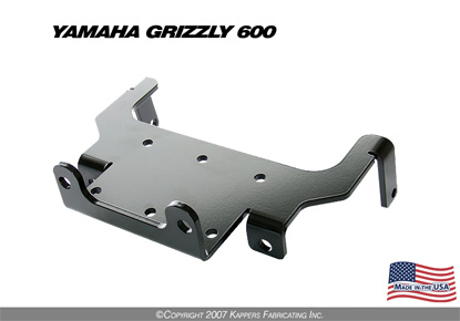 1998-2001 Yamaha Grizzly 600 Winch Mount