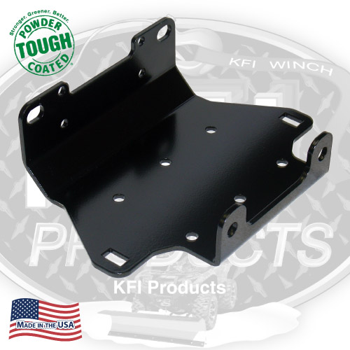 Yamaha Grizzly 550 / 700 Winch mount