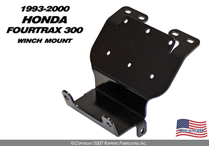 1993-2000 Honda Fourtrax 300 Winch Mount