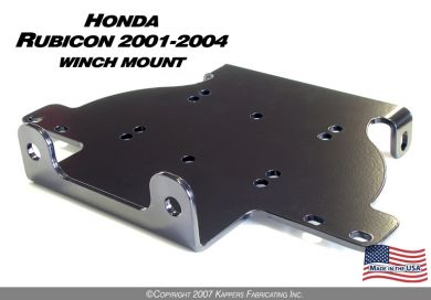 2001-2004 Honda Rubicon Winch Mount