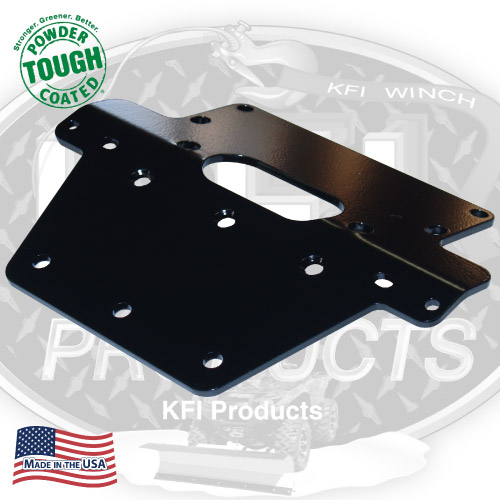 2007-2013 Honda Rancher 420 2x4 Winch Mount