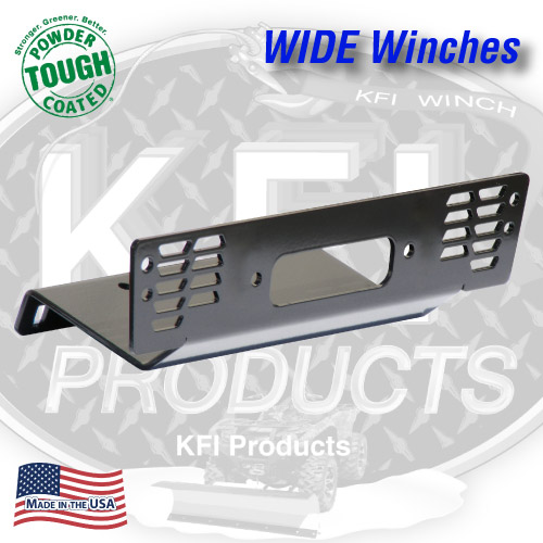 2009-2014 Polaris Full-Size Ranger Winch Mount (WIDE)