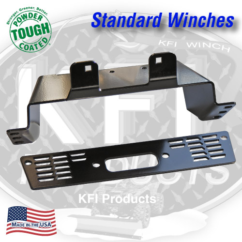 Polaris Midsize Ranger Winch Mount (Standard)