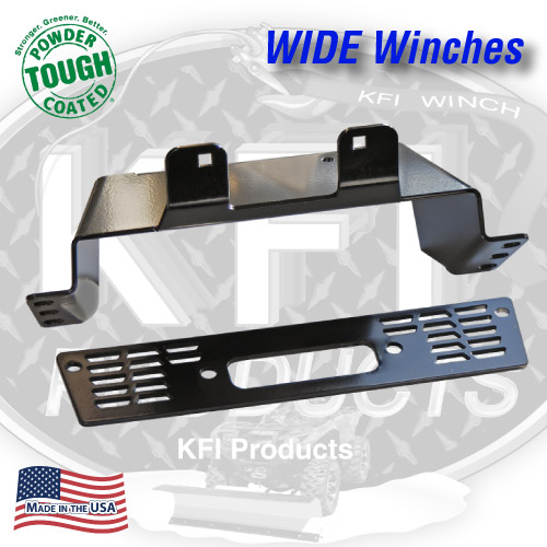 Polaris Midsize Ranger Winch Mount (WIDE)
