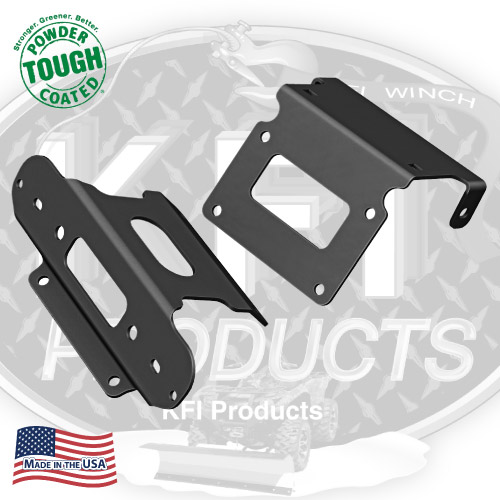 2007-2014 KFI Honda Rancher 420 4x4 Winch Mount