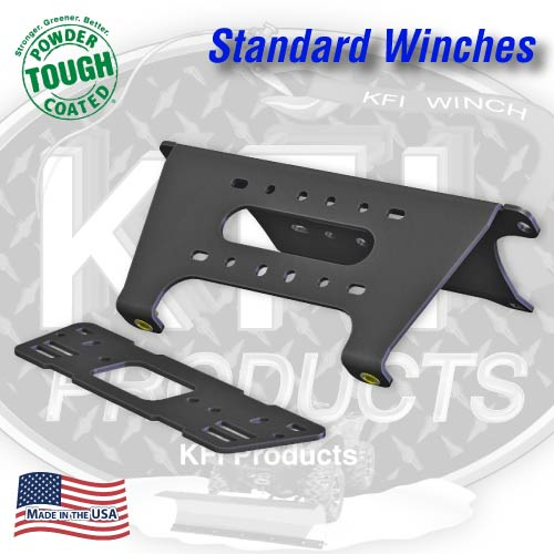 Current Polaris Full-Size Ranger Winch Mount (Standard)