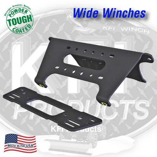 Current Polaris Full-Size Ranger Winch Mount (WIDE)