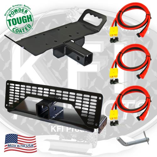 2001-2009 Polaris Ranger Multi-Mount Winch Kit