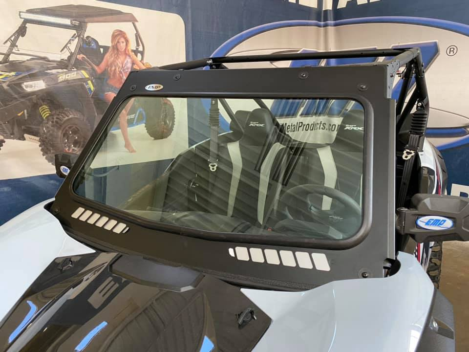 Kawasaki Teryx KRX 1000 Laminated Safety Glass Windshield.