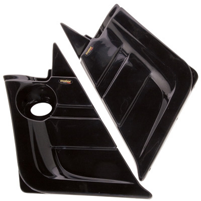 2004-2007 Rhino 660 Custom Side Panels Black