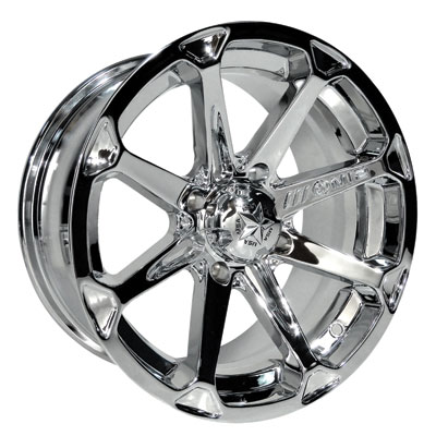 Motosport Alloys M12 Diesel Wheel 14x7 4/156 4.0 + 3.0 Chrome