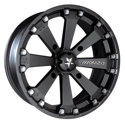 Motosport Alloys M20 Kore Wheel 14x7 4/156 3.5 + 3.5 Flat Black