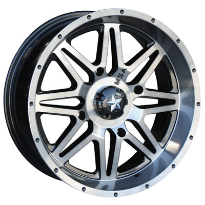 4/137 Motosport Alloys M26 Vibe Wheel 14x7 3.5 + 3.5 Dark Tint