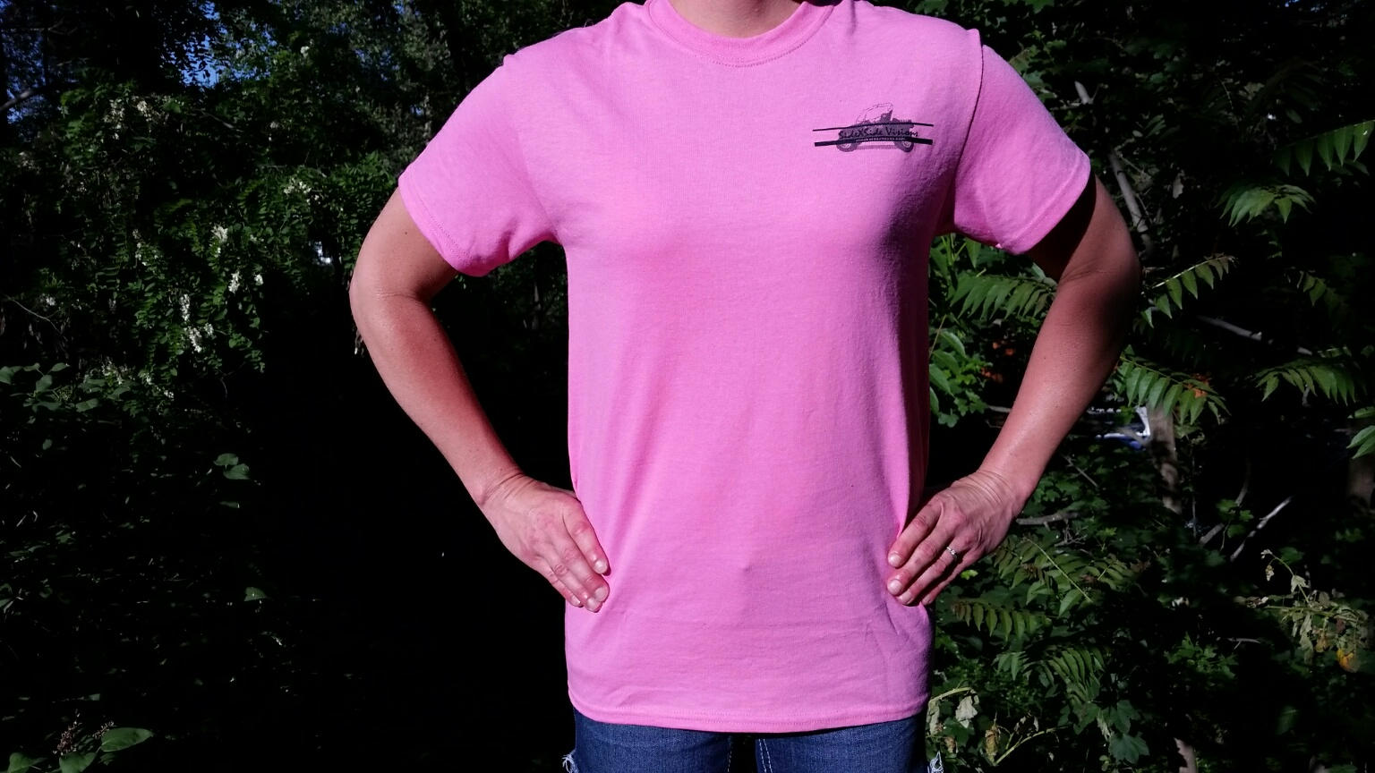 Small Pink SideXSide Visions T-Shirt