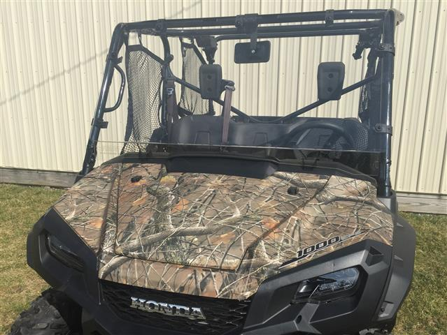 Honda Pioneer 1000 and 1000-5 Hard Coated Polycarbonate Windshield