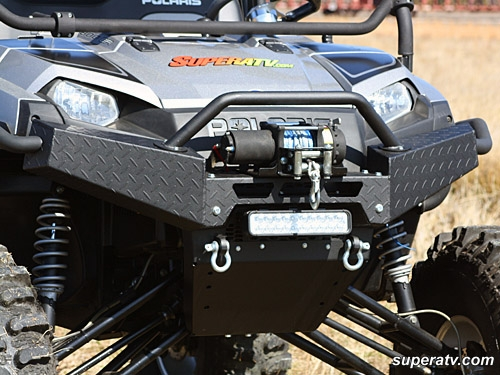 Polaris Ranger XP Textured Diamond Plate Front Brush Guard