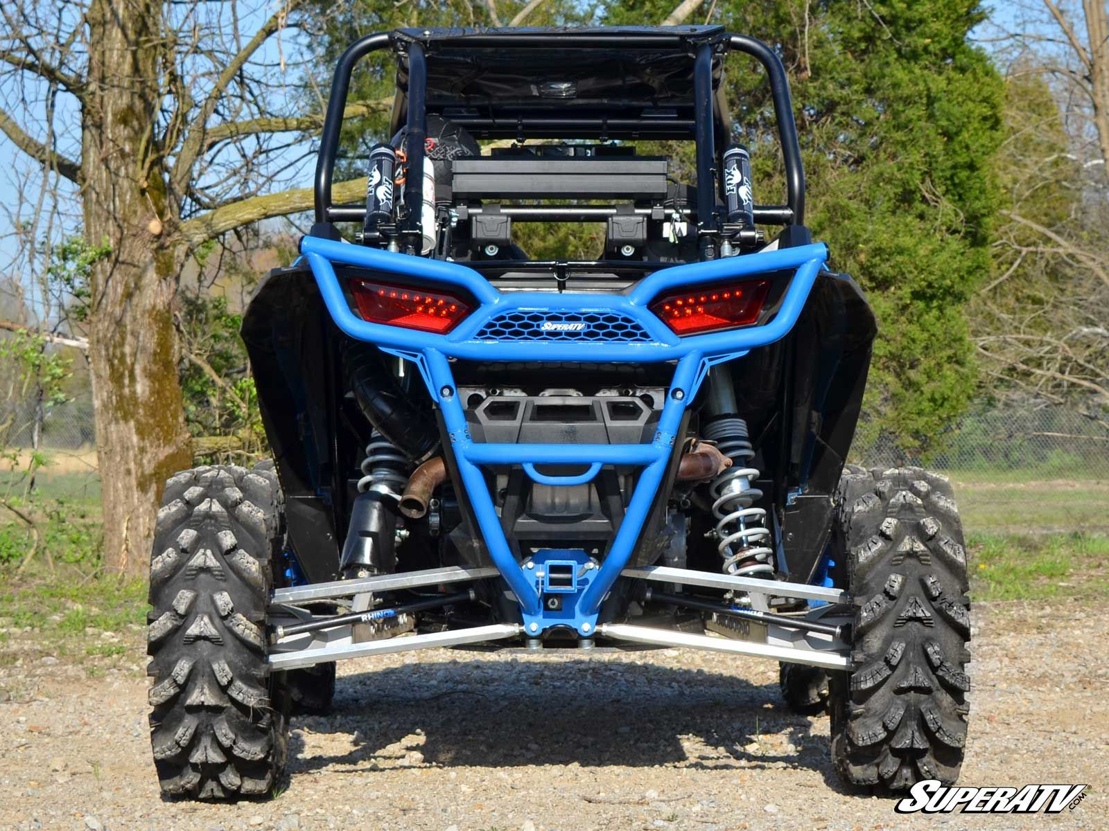 Polaris RZR XP 1000 & XP Turbo Rear Bumper With Built In Receiver Hitch