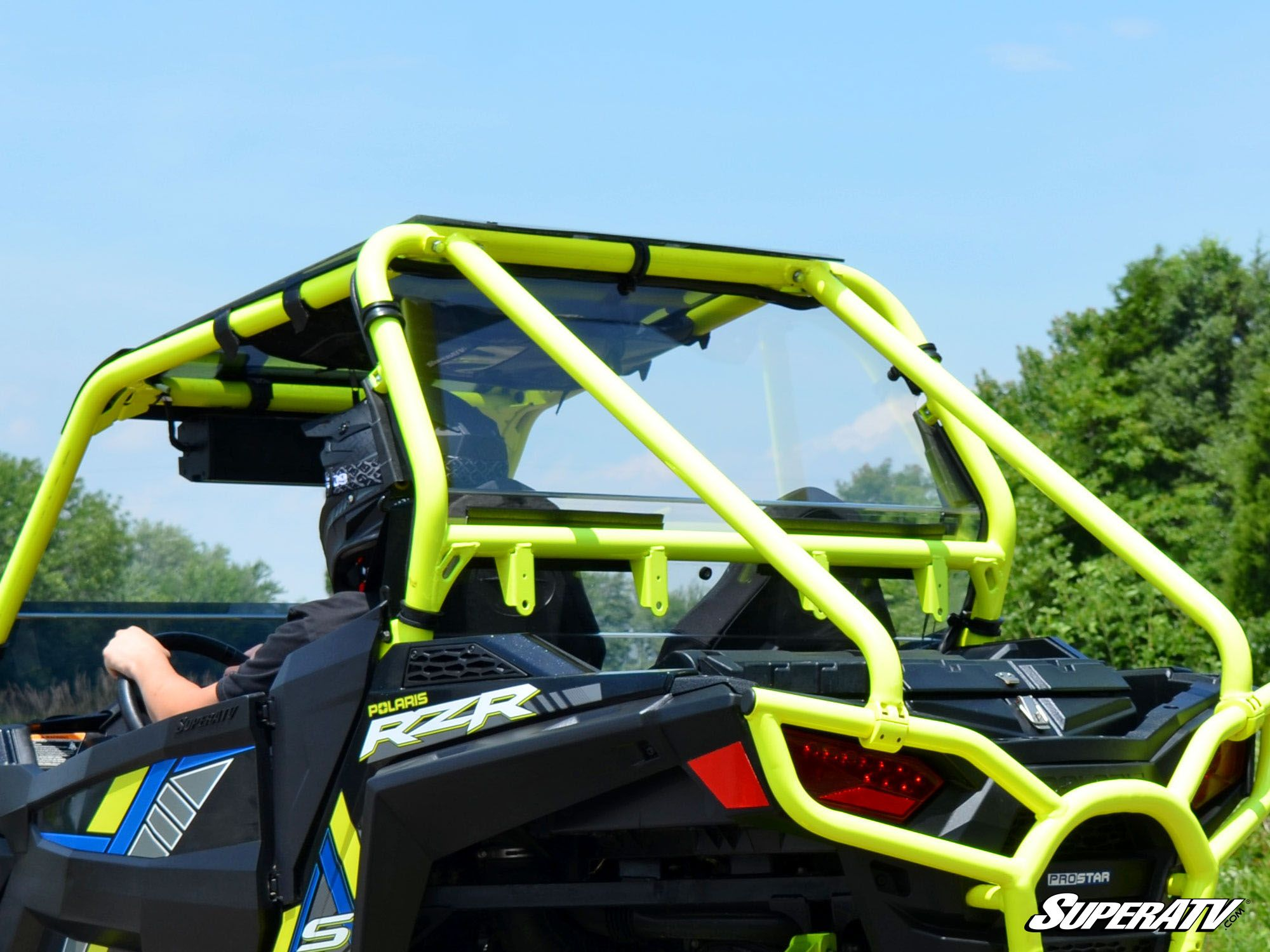 Polaris RZR 900 Rear Windshield