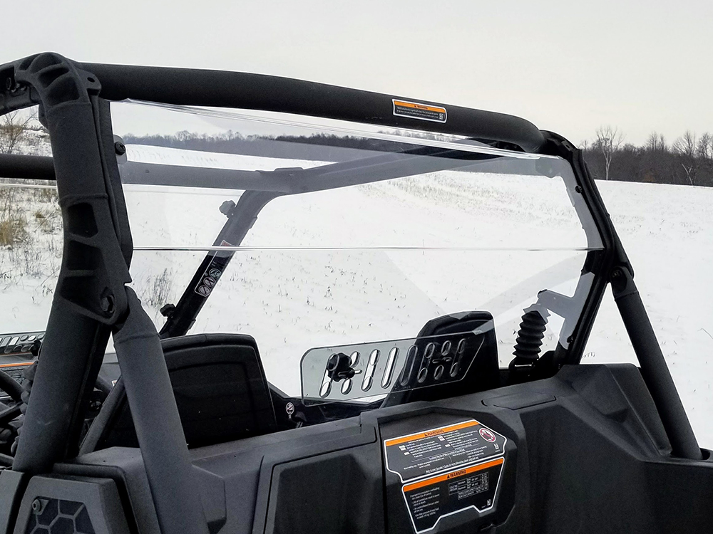 Can-Am Maverick Trail Rear Shield With Sliding Vent