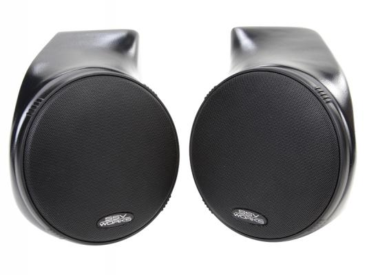 CAN-AM COMMANDER/MAVERICK SPEAKER PODS WITH 6 1/2 SPEAKERS PAIR