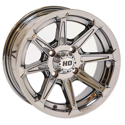 STI HD2 Alloy Wheel 12x7 4/156 4.0 + 3.0 iChrome