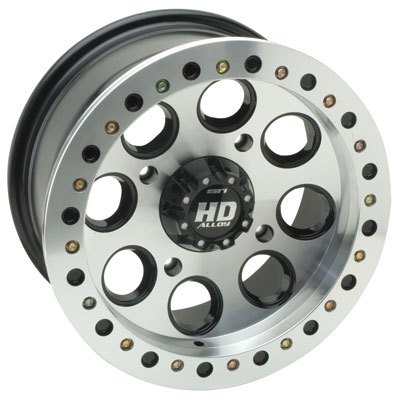 STI HD Beadlock Wheel 12x7 4/156 4.0 + 3.0 Machined