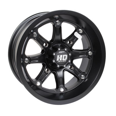 STI HD4 Limited Edition Alloy Wheel 17x7 4.0 + 3.0 Matte Black