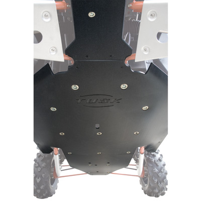 Polaris RZR XP 900 Quiet-Glide Skid Plate 3/8""