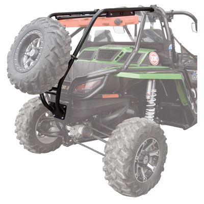 Wild Cat 1000 Rear Bumper, Cargo Rack, and Spare Tire Carrier
