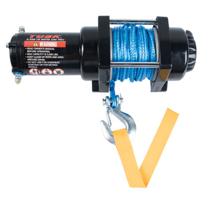 ATV, UTV 3500lb Winch With Synthetic Rope