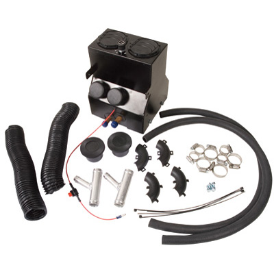 12-14 RZR 570 Cab Heater with Defrost Kit Power Steering Models