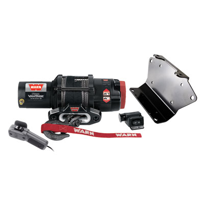 Polaris RZR XP 900 2500lb Warn Winch Kit